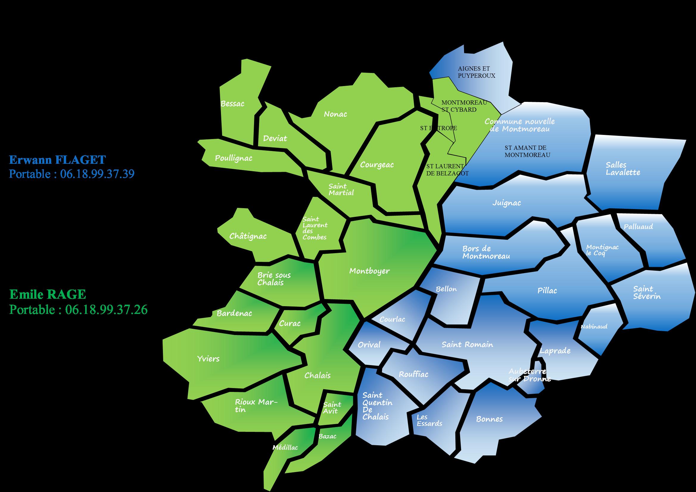 Carte secteurs SPANC 2019